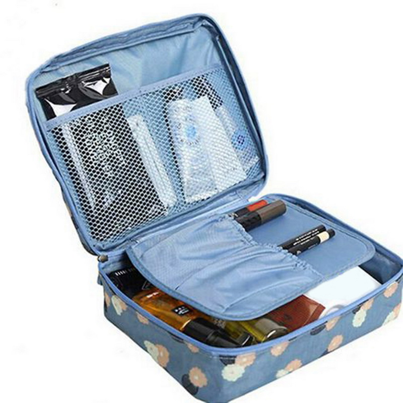 Urijk Container Storage-Bag Makeup-Organizer Cosmetic Beauty-Case Zipper Fashion Portable