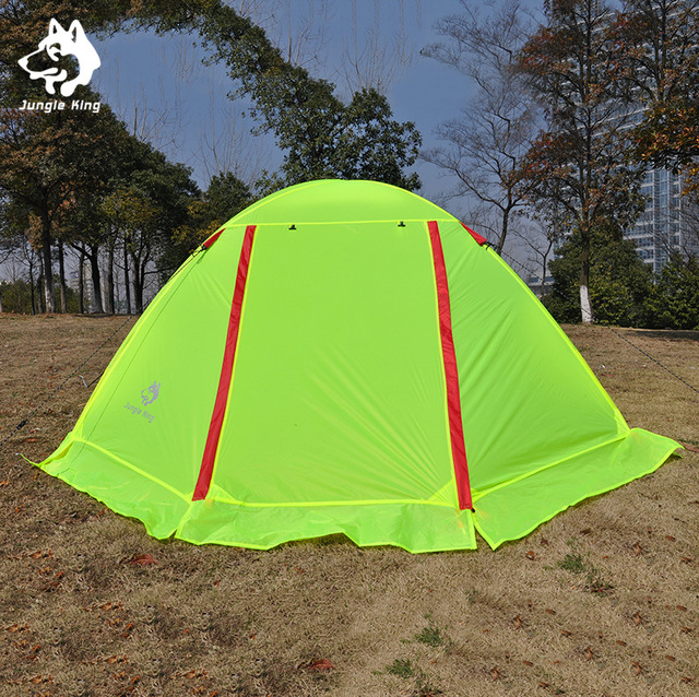 Jungle King Outdoor double climbing light nylon snow skirt aluminum pole tent c&ing tents outdoor field & Jungle King Outdoor double climbing light nylon snow skirt ...