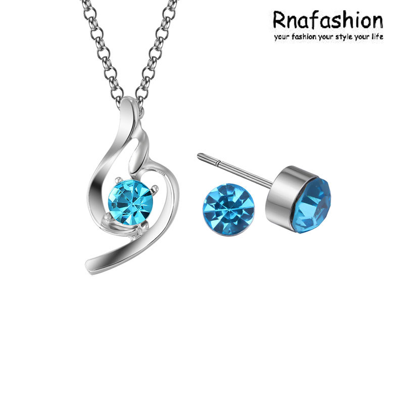 Fashion jewelry necklaces pendants earrings + necklace