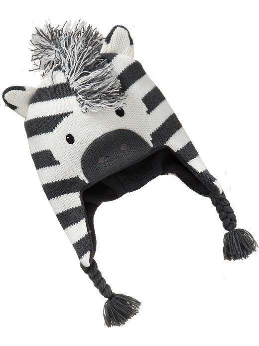 8aedb0a185a Detail Feedback Questions about Cute Zebra Baby Boys Girls Winter Hat Knit  Crochet Children Kids Hat with Lining 0 8Y on Aliexpress.com