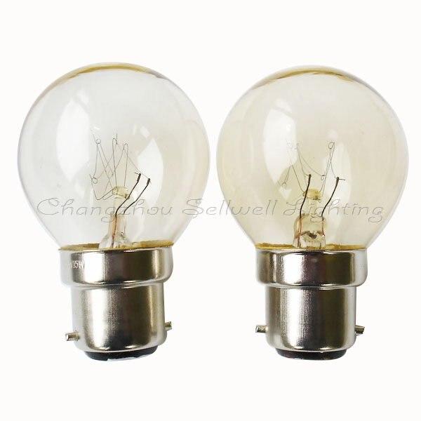 Купить с кэшбэком Good!miniature Bulb Light 220v 15w B22 A438