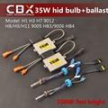 CBX 35 Вт V1 Быстрый Яркий HID Xenon Балласт + Высокое Яркое ксеноновые Лампы H1 H3 H7 H8/H9/H11 9005/9006 9012 5500 К для Фар 2 шт./лот