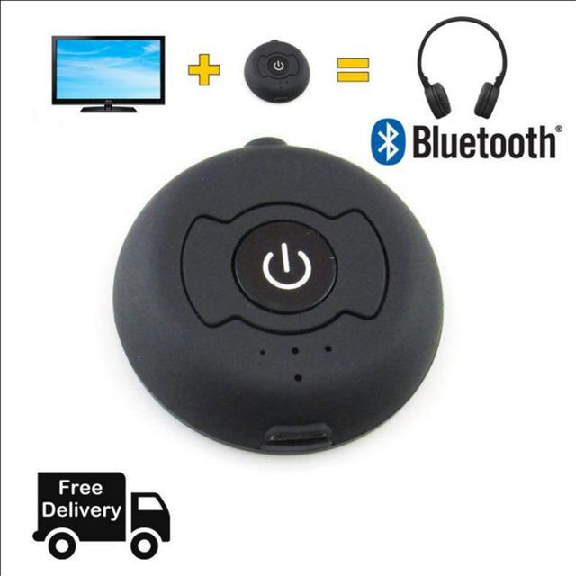 Transmisor de Música Bluetooth Audio 4.0 H366T Wireless Adapter 3.5mm Jack Stereo TV Enviar la Señal de Audio a un receptor a través de bluetooth