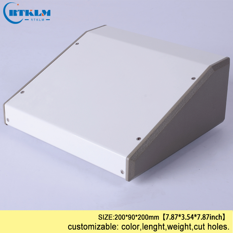 Iron box housing for electronics seal wire connectors iron enclosure diy instrumen case Power supply project box 200*90*200mm 15 200mm aluminum alloys lock body wire lead seal used container tanker seal