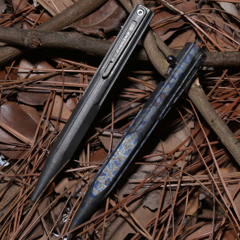 TWO SUN titanium Drill Rod tactical pen camping hunting outdoors survival practical EDC MULTI utility write