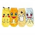 Милые Японские Аниме Покемон Go Носки Nintendo Характер Карманные Монстры Пикачу Женщины Короткие Носки Косплей Рождественский Подарок