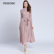 fashion woman spring new lace dress quality female party a-line dress