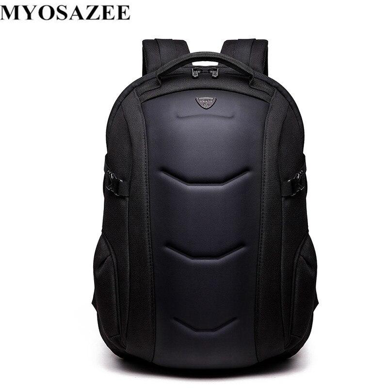 MYOSAZEE Men Backpack Multifunctional Oxford Casual Laptop Backpacks Male Waterproof Travel Bag School Boys Computer Bagpack