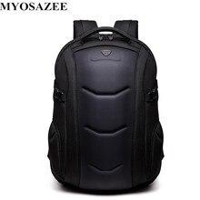 MYOSAZEE Men Backpack Multifunctional Oxford Casual Laptop Backpacks Male Waterproof Travel Bag School Boys Computer Bagpack все цены