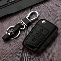 1pcs 3D Car Key Shape Elegant Car Key Case Cover Protector For VW Volkswagen Golf 7