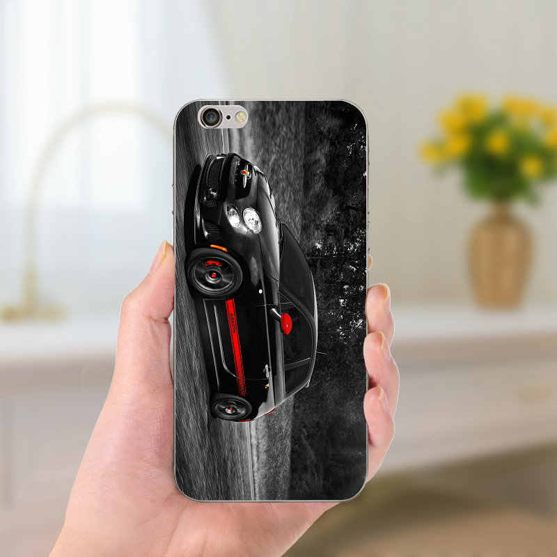 038a94913f8 ... Fiat Abarth Logo Soft TPU Silicon Phone Cases Slim Transparent Cover  for iPhone 8 7 6 ...