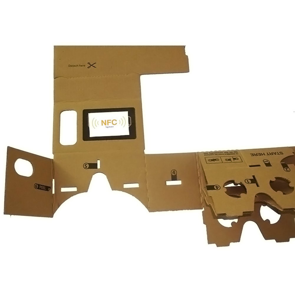 New 1 pcs NFC Tag for DIY Google Cardboard <font><b>vr</b></font> Virtual Reality 3D <font><b>Glasses</b></font> image