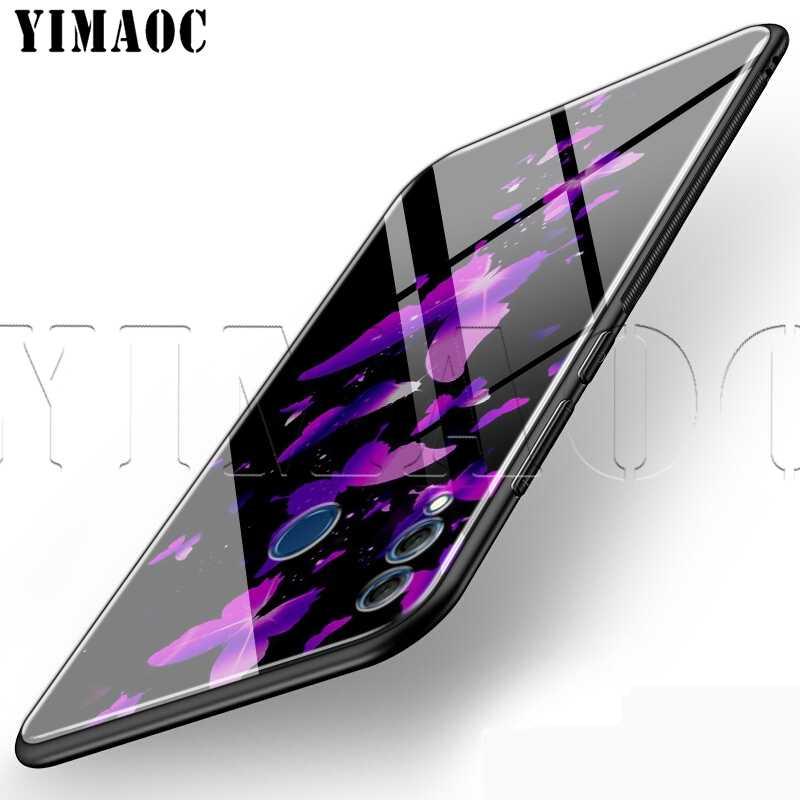 YIMAOC Infinity Mor Cam Huawei Onur Arkadaşı 7A 8X9 P10 20 30 Y6 Y9 P akıllı lite Pro 2018 2019