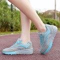 Дышащие Женщин Повседневная Обувь 2016 Новый Комфортабельный Воздуха Сетка Женской Обуви Высота Увеличение Обувь Классические Туфли ST422