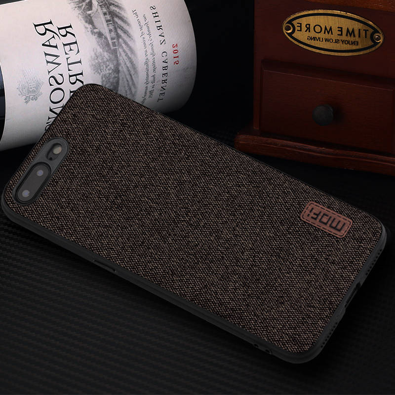 more photos 359de c6e0b US $7.49 25% OFF|MOFi case for iphone8 iphone 8 plus case cover silicone  edge shockproof business men back cover 8P 7 plus case for iphone 7 case-in  ...