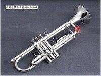 Япония Куно ktr 902 посеребренные небольшой Трубы трубы BB плоским инструмент латунь strudents BB trompeta