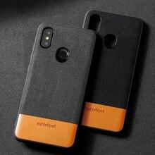Genuine Leather Phone Case For Xiaomi Mi 6 Mi 8 8SE Mix 2S 6X A2 mix 2s note3 redmi 6pro Case Stitching All inclusive Back Cover mi mix 2s 6 128 white