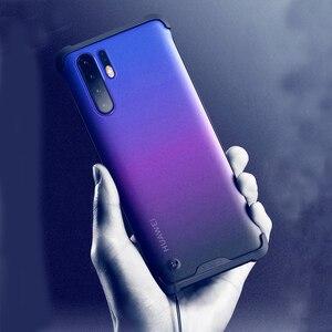 Image 3 - Per Huawei P30 Pro/P30 Caso Anti bussare Opaco Acrilico Della Copertura Posteriore per Huawei P30 P 30 30Pro più il Caso di Copertura Del Telefono Caphina Borsette