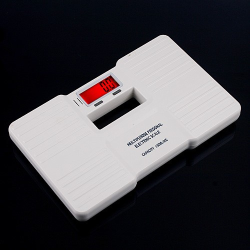 150KG 0.1KG Digital Electronic Body Scale  Balance Mini Personal Bathroom Floor Weight Scales