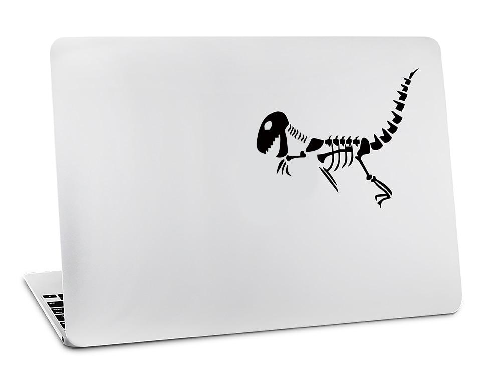 Zelfbewust Dinosaurus Fossielen Schedel Paniek Decal Voor Macbook Air 11 12 13 Pro 13 15 17 Retina Skin Muur Auto Computer Vinyl Sticker Fijne Kwaliteit