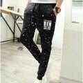 Men's Fashion  Pants Cotton Blend pantalones hombre Pants Men Slim Printing Joggers Pants Trousers pantalon homme HO852561