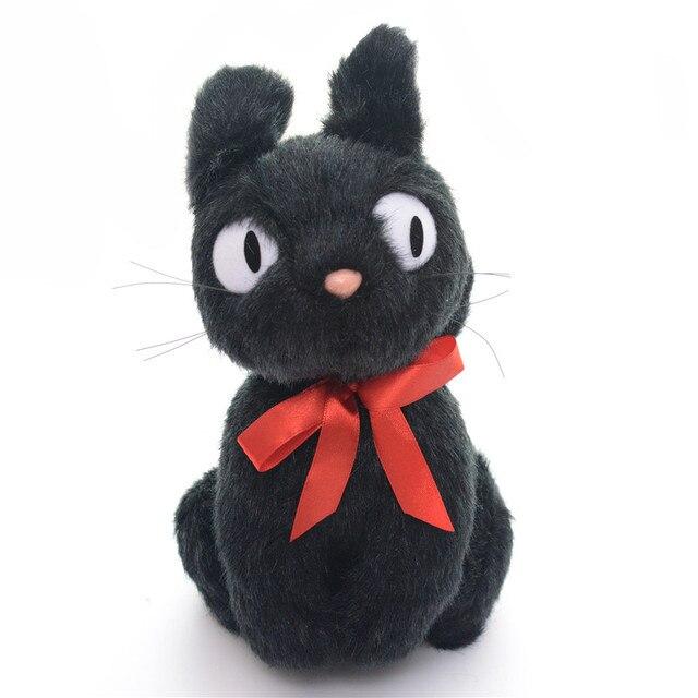 Giocattoli Del Gatto Di Peluche Bella Realistica Bambola Gatto Nero