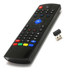 Portable MX3 MXIII 6 Axis Wireless Remote Controllers MX3 Fly Air Mouse Mini 2.4G Keyboard for Smart TV Android TV Box PC HTPC