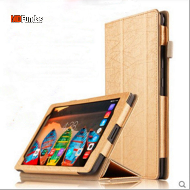 MDFUNDAS Fitted Case For Lenovo Tab3 8 Plus TB-8703F TB-8703N Fundas Flip Folding Stand  Leather Cover For Lenovo P8 + Film smart case for lenovo tab 3 8 plus cover flip pu leather tablet cover for lenovo p8 tb 8703 8703f 8703n case auto sleep function