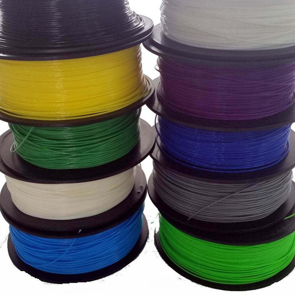 3D Printer Filament PLA 1.75mm 1KG (400M) 3D Filament Printing Materials For 3D Printer 3D Printing Pen Wholesale price 3d printer filament 50m 5 colors 10m color abs pla 1 75mm 3d filament printing materials for 3d printing pen 3d printer
