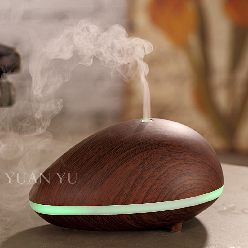 ФОТО 150ml Electric Aroma Diffuser Ultrasonic Humidifier Essential Oil Diffuser Lamp Aromatherapy Air Purifier Woodgrain Mist Maker