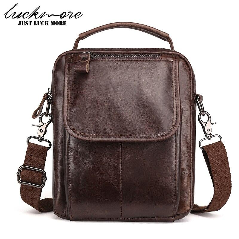 Genuine Leather Men Messenger Bags 2017 Fashion Designer Man Shoulder Bag Handbags Business Briefcase Crossbody Bag High Quality
