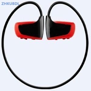 Image 1 - ZHKUBDL 새로운 스포츠 MP3 플레이어 8 기가 바이트 16 기가 바이트 W262 스테레오 헤드셋 MP3 HIFI 헤드폰 IPX2 내장 메모리