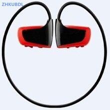 ZHKUBDL جديد الرياضة مشغل MP3 8 جيجابايت 16 جيجابايت W262 سماعة ستيريو MP3 سماعة الرأس اللاسلكية IPX2 مع المدمج في الذاكرة