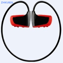 ZHKUBDL new Sport MP3 player 8GB 16GB W262 Stereo Headset MP3 HIFI headphone IPX2 with built in memory