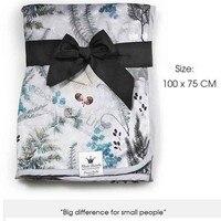 Coperta del bambino Del Capretto primavera-Estate del bambino coperte con stampa floreale, neonato Estate trapunta per passeggino, set di biancheria da letto