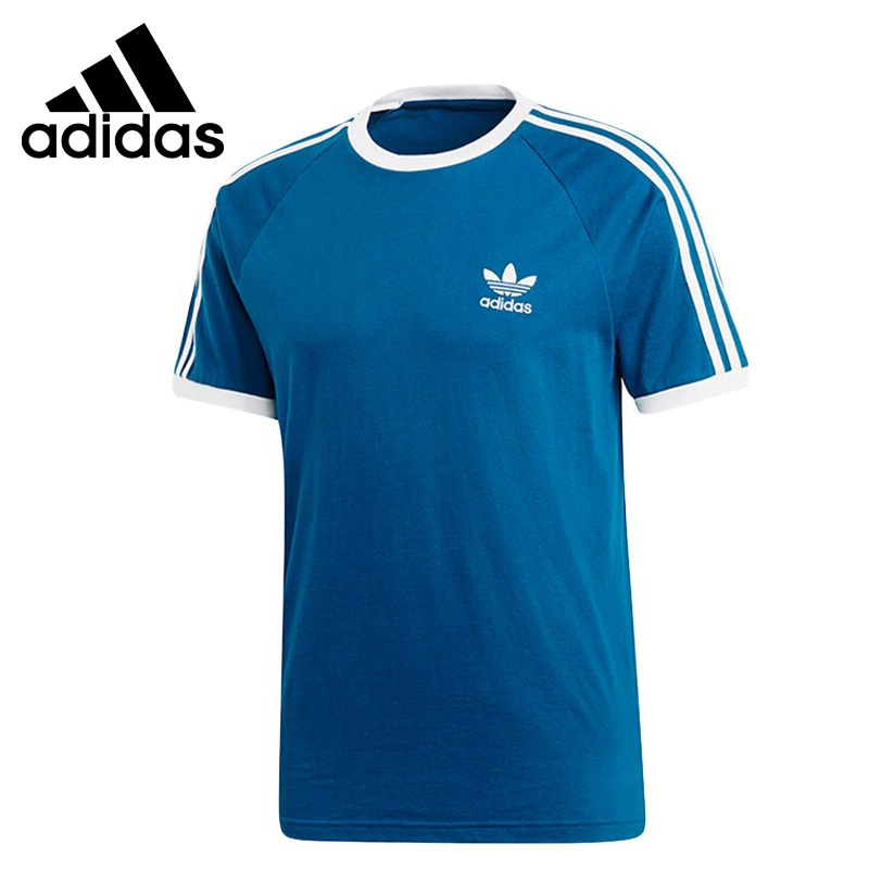 Original New Arrival  Adidas Originals 3-STRIPES TEE Men's T-shirts short sleeve Sportswear