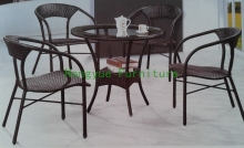 outdoor pe rattan garden furniture