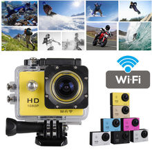 SJ4000 Full HD 12MP 1080P WIFI Wireless 30M Waterproof Sports DV Video Action Camera Super Wide Angle Lens 140 Degree