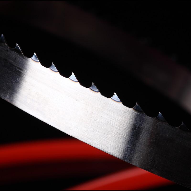 "2 Pieces 9"" 1575*10*0.65mm*6 Teeth Wood Band Saw Blades 10*0.65*1575mm*8 Teeth Saw Blades For Wood Band Saw"