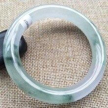 60 мм Ювелирные изделия Лаванда жадеит нефритовый браслет
