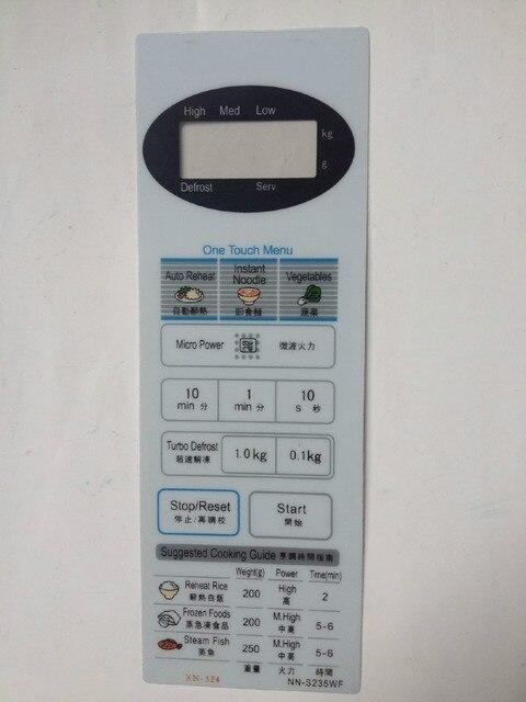 전자 레인지 패널 스위치 NN GT347H NN GT337H NN S235MF NN S235WF 스위치