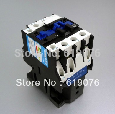 <font><b>CJX2</b></font> <font><b>2510</b></font> Motor Starter Relay contactor AC 220V silver point Voltage optional LC1-D image