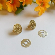 10set 14mm Magnetic Snap Fasteners Clasps Buttons Handbag Purse Wallet Craft Bags Parts Accessories