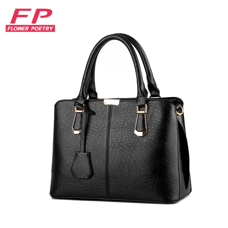 New Women Bag Luxury PU Leather Handbags Fashion Women Famous Brands Designer Handbag High Quality Brand
