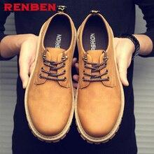 Plus Size Men Oxfords Faux Suede Leather Men Casual Shoes Spring Autumn Fashion Oxford Shoes Men 2018 Male
