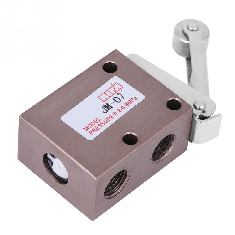 In Pt 1/4 Gewinde Roller Typ Mechanische Pneumatische Ventil 2 Position 3 Way Novel Design;