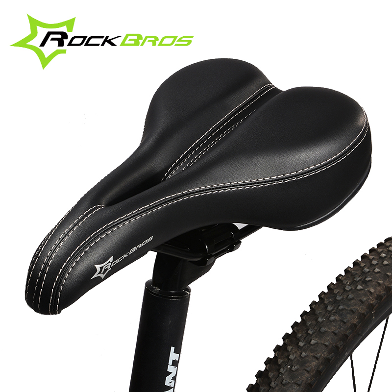 Bike Bicycle Road Saddle Sport Hollow Saddle Seat Black Soft Comfort