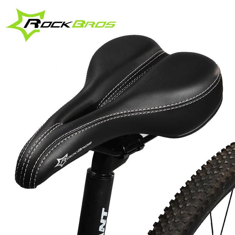 Comfortable Anti Skid MTB Road Bike Saddle Bicycle Seat Cushion Pad Black DHL