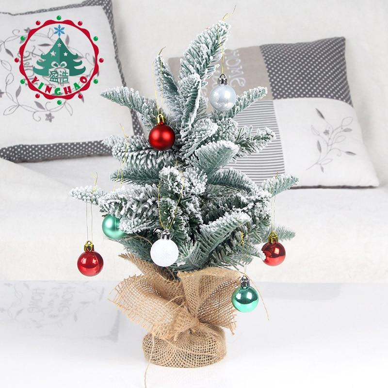 Beste Kopen Inhoo 35 Cm Mini Wit Kunstmatige Kerstboom Slaapkamer