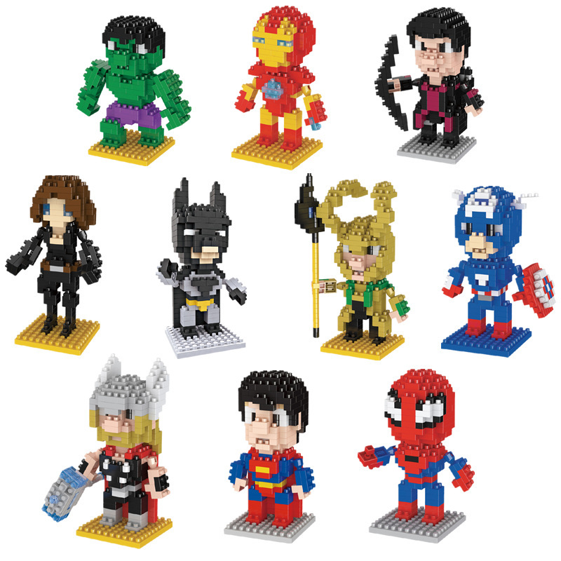 LNO Mini Building Blocks Toys Intelligented Particle Micro Diamond Blocks Toy For Kids